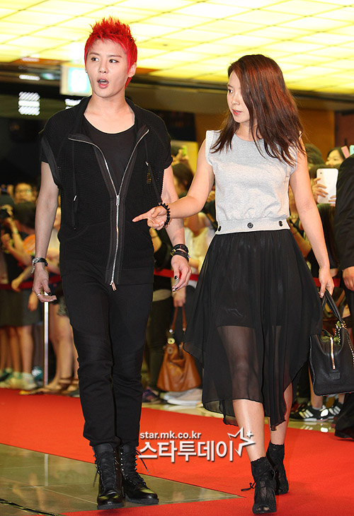 Song ji hyo dating jyj concert